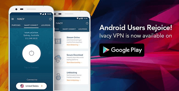 Ivacy-on-Android