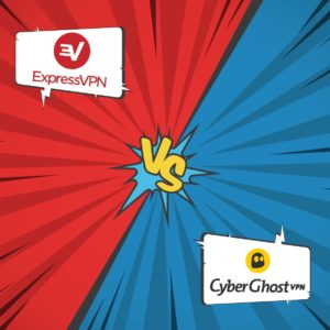 Comparison between ExpressVPN and CyberGhost