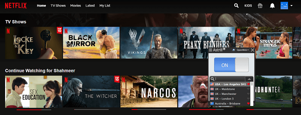 Netflix Content Unblocked with Astrill VPN