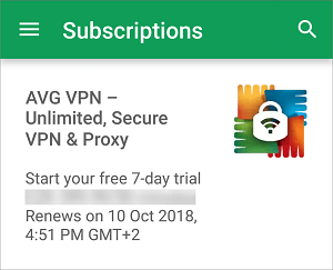 Selection-of-AVG-Secure-VPN-from-Subscription-List
