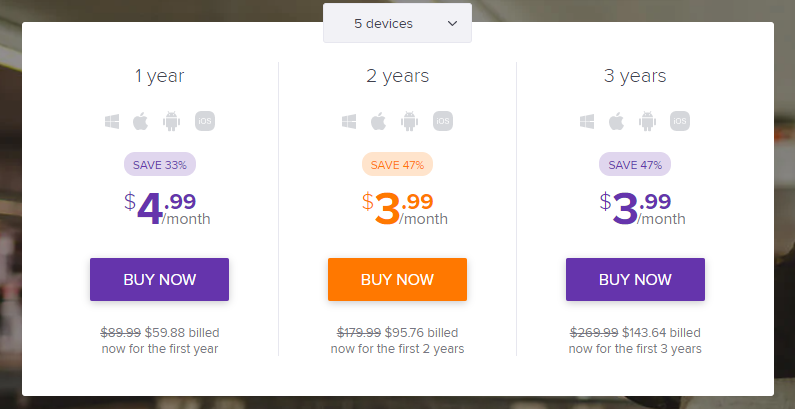 avast-secureline-vpn-pricing-plan