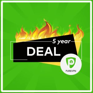 PureVPN Lifetime Subscription [5-Year Deal with 88% OFF]