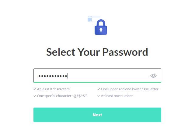 safervpn-free-trial-select-password-screen