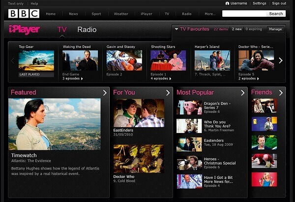 SpyOFF VPN unblocks BBC iPlayer