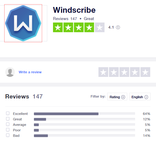 windscribe-trustpilot-rating-2020