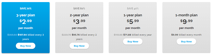 Speedify Pricing Plan for Individuals