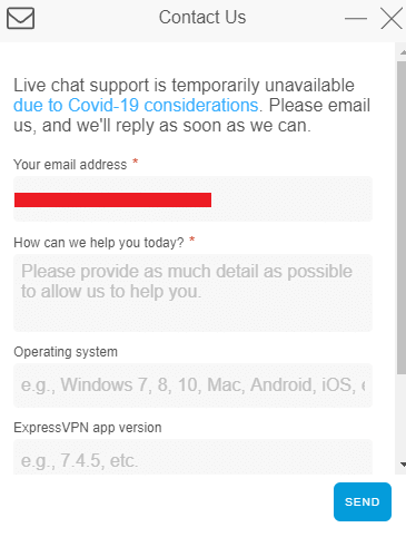 ExpressVPN-live-chat-support--not-available-during-covid-19-pandemic