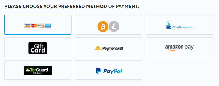 TorGuard-Payment-Options