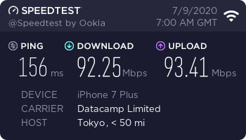 nordvpn-speed-test-result-japan