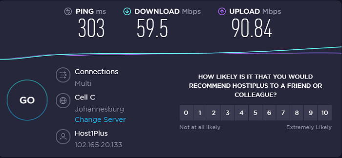 pia-vpn-speed-test-result-south-africa