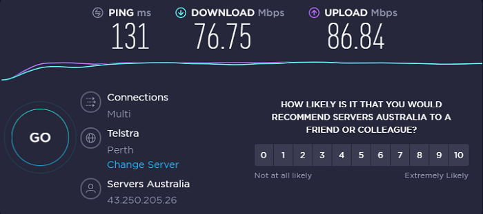 purevpn-speed-test-result-australia-server