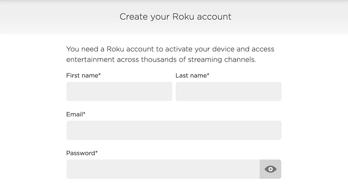 create-your-roku-account-step-2