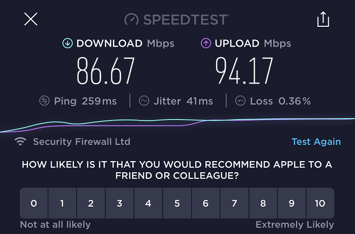 expressvpn-speed-test-result-hong-kong-server
