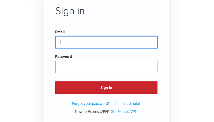 expressvpn-login-screen