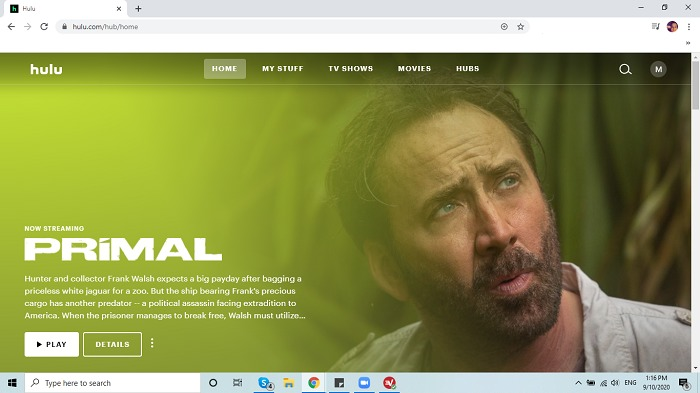 hulu-main-screen