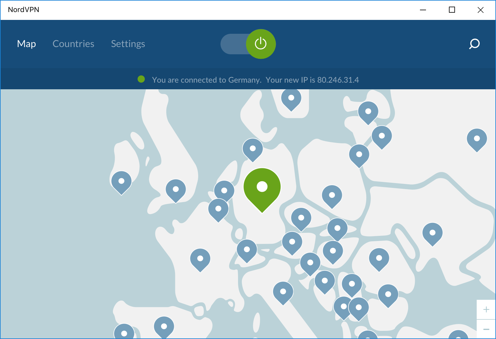 nordvpn-app-interface