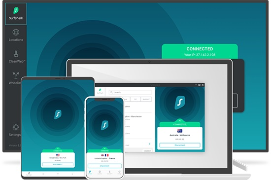 Surfshark – Risk-Free VPN