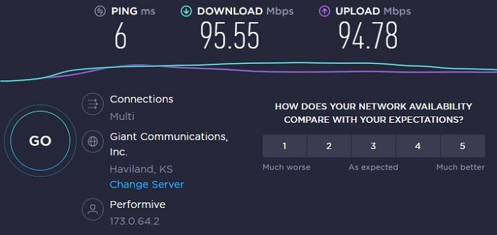 speed-test-result-without-purevpn-connected