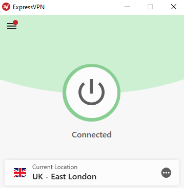 Selecting ExpressVPN UK server for BBC