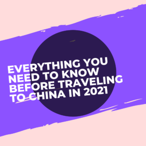 4 Essential things you should know before going to China