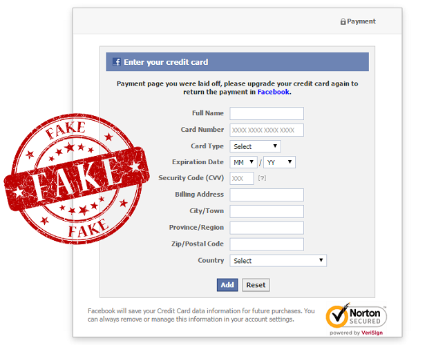 facebook-phishing-payment